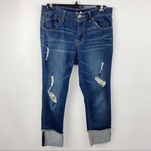 1822 denim jeans cropped